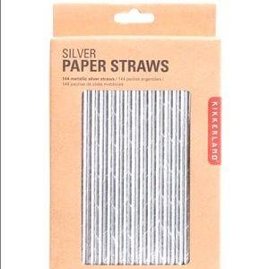 New UO Metallic Straws